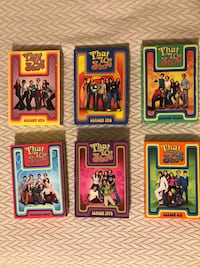 That 70's Show seasons 1-6 on DVD