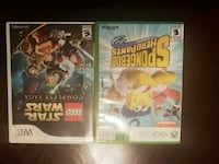 two  games Nintendo Wii game and Xbox 360 in cases Toronto, M9N 1W2