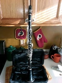 black and red clarinet in case Capitol Heights, 20743