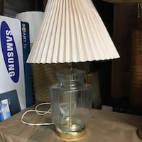 Lamp. Can fill glass body w shells, sand or whatever makes one happy Lutherville Timonium, 21093
