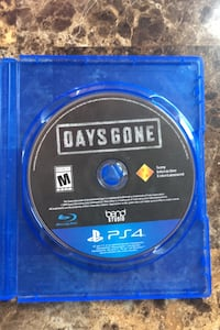 PS4 Days Gone Game Disc Only Playstation 4