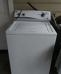 white top-load clothes washer Rio Hondo, 78583