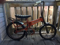 Vintage Canadian made 70's THISTLE bike rusted patina . Hamilton, L8H