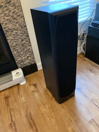 Infinity Alpha 50 tower speakers (2) / powered subwoofer (1).