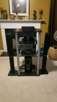 Used Glass Tv Stand For Sale In Decatur Letgo