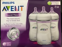 BNIB Philips Avent Natural Baby Bottle, 8oz, 3-Pack Richmond, V7A 1N4