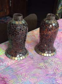 Mosaic glass candle holders Vienna, 22181