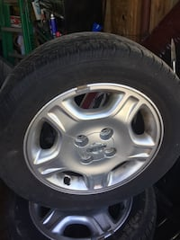 gray 5-spoke car wheel with tire Toronto, M1B 5N6