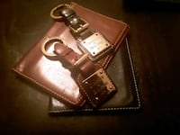 His and Hers Dooney&Bourke Passport Carrier