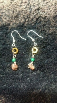 Steampunk earrings with stones Dumfries, 22026