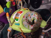 baby's green and pink activity saucer Toronto, M3N 2K3