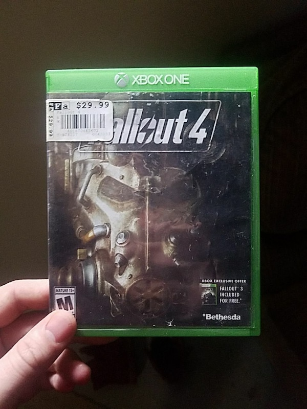 Fallout 4 Xbox One game case