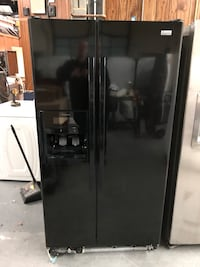 KENMORE BLACK SIDE BY SIDE FRIDGE  Charlotte, 28134