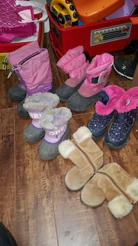 Girls assorted winter boots.. Calgary, T2B 2E1