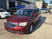 2011 Chrysler Town & Country Red Addison, 75001