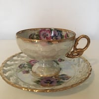 Vintage Tea Cup and Saucer Columbia, 21045