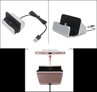USB C Cellphone Dock & Charge Stand Whitby