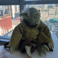 Yoda backpack!! In like new condition Vancouver, V6B 1E3