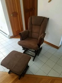 Glider chair and ottoman Danvers, 01923