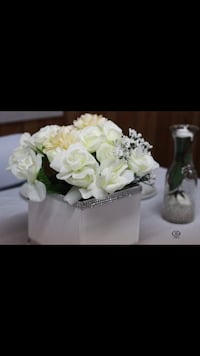 white and green artificial flowers Branchburg, 08876