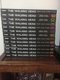 Complete walking dead collection up to 13 Surrey, V3S 5J1