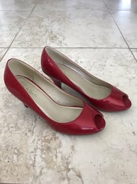 Red heel shoes size 8.5 Laval, H7E 5N5