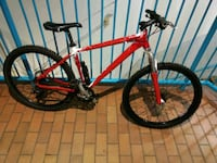 red and black hard tail mountain bike Edmonton, T5B 3A4