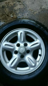 Set of rims and tires for Mazda B series Trucks Barrie, L4N 8H9