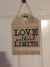 Brand new wood sign home decor Vancouver