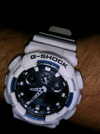 round white Casio G-Shock digital watch Flint, 48507