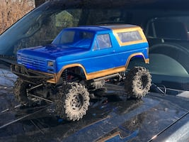 R.C. Rock crawler/ trail truck
