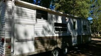 brown and white travel trailer Vancouver, 98665
