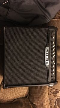 Black line 6 guitar amplifier