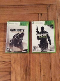 Xbox 360 call of duty game case Blissfield, 49228