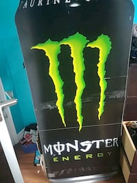 Full size monster can sign