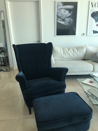 Accent Chair Navy Blue Miami, 33131