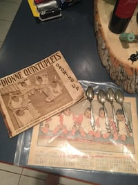 Vintage dionne quintuplets collection Innisfil, L9S 3N8