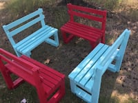 All four toddlers' benches for just $150 St. Albert