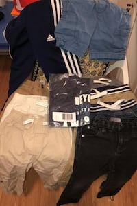 10 pieces clothing for boy 2T-3T / 1new cap all for 30$ various brands
