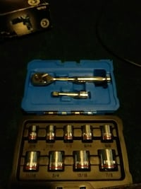 stainless steel socket wrench set