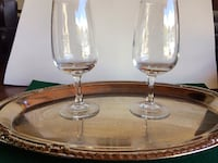 Serving tray with cognac glasses Dublin