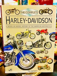 Harley Davidson Book the History, Pictures & Stories West Jefferson, 28694