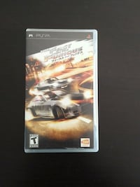 PSP The Fast and the Furious game Vaughan, L4L