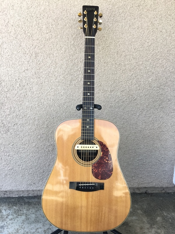 1975 Vista Acoustic Guitar (Martin Lawsuit Era, Gibson Grover Tuners, LR  Baggs M-1 Pickup, with HSC)