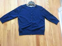 Ladies navy blue cardigan