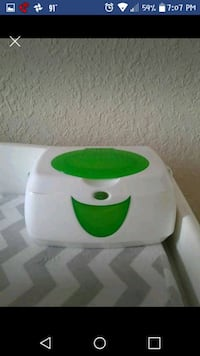 white and green wipes warmer Lawrence, 66047