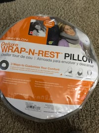 Travelon Wrap-n-Rest Deluxe Pillow Laurel, 20708