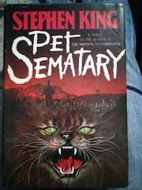 First Edition Pet Sematary