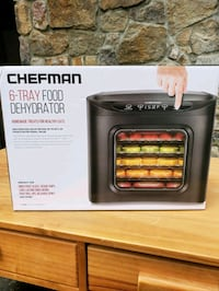 Chefman 6Tray Food Dehydrator Fairfax, 22032