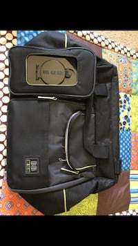 black BB Gear handbag